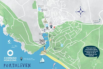 Porthleven Map