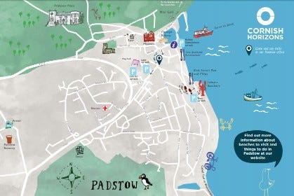 Padstow Map
