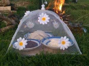 Cream tea barbecued- ingredients
