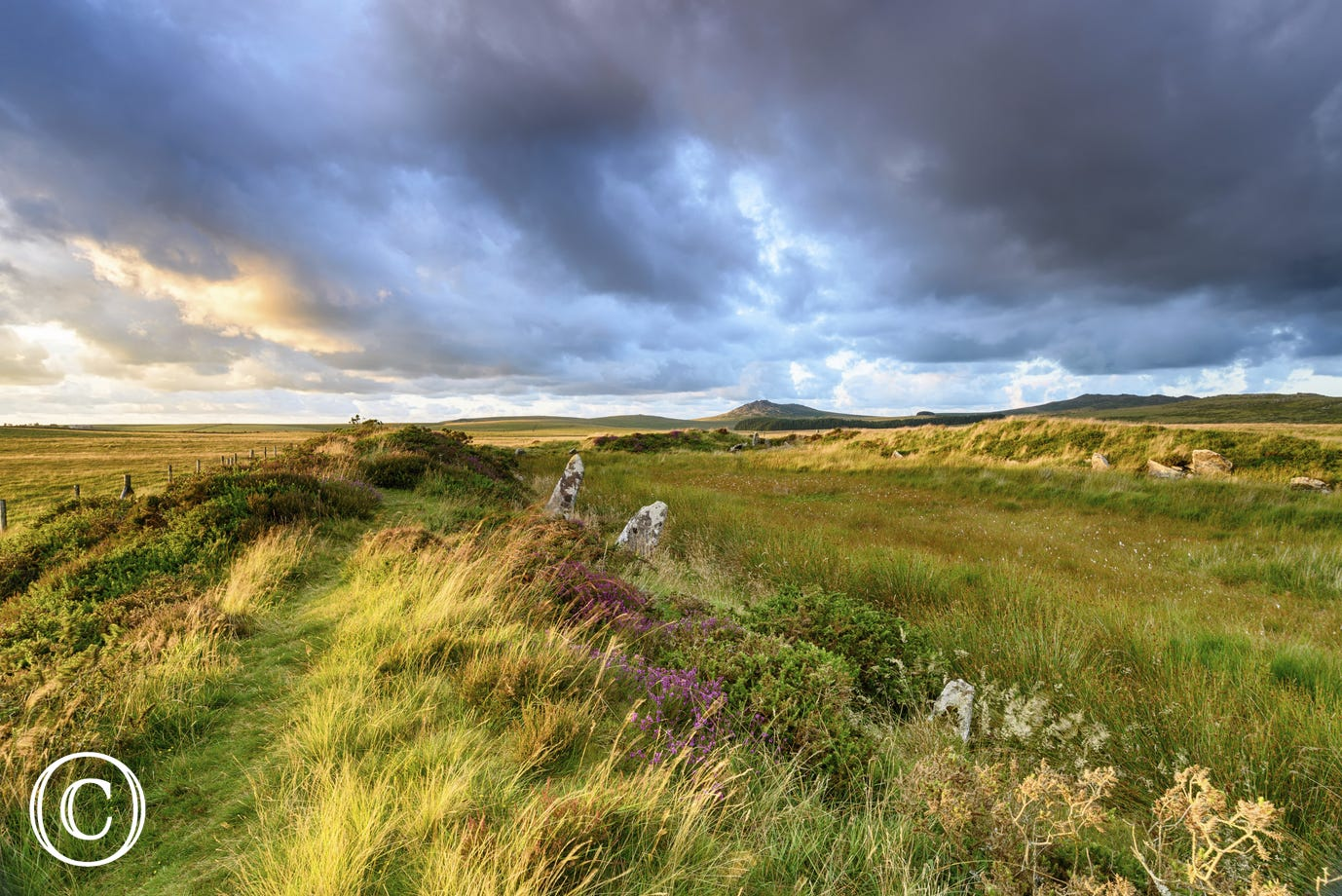 Only 5 miles to the dramatic landscape of Bodmin Moor - a walker's paradise