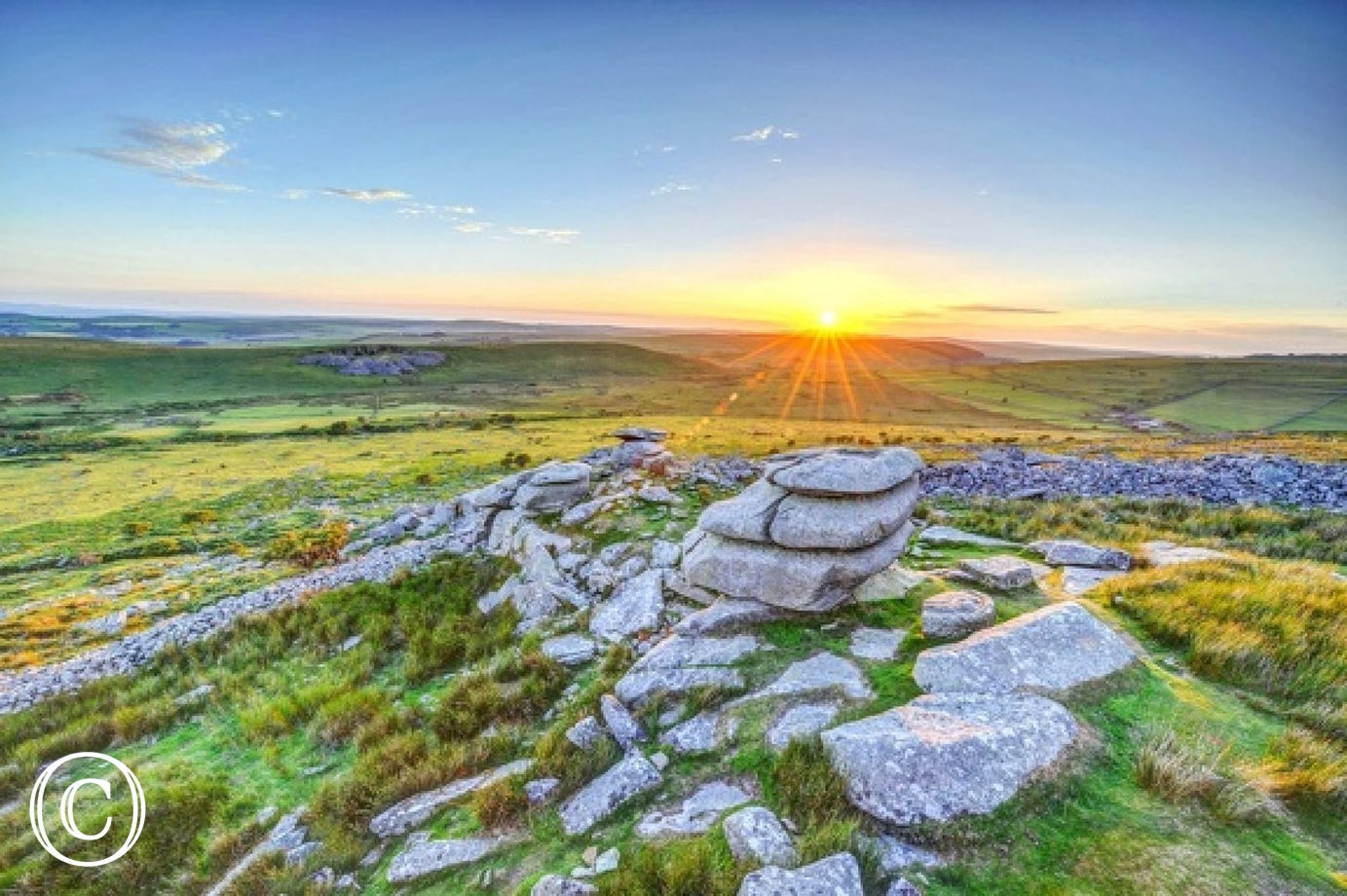 Nearby Bodmin Moor - a walker's paradise