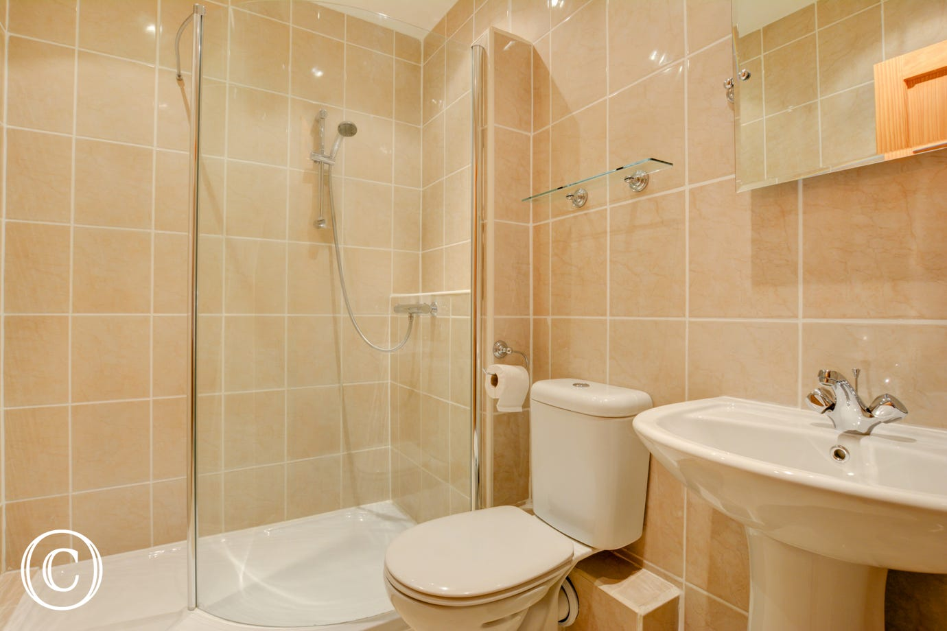Bedroom 3 En suite Shower Room