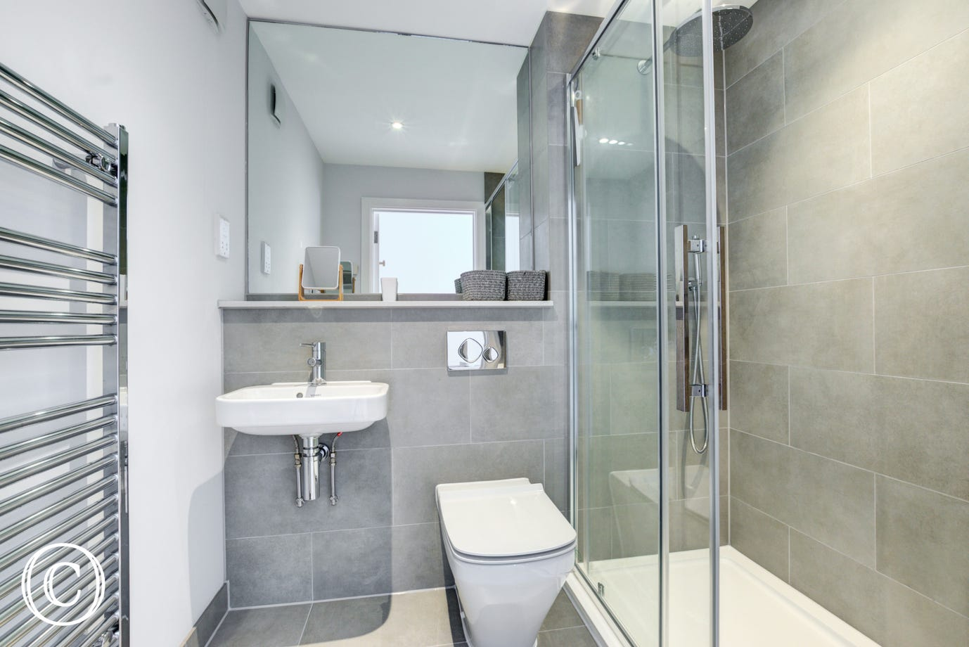 High specification en suite shower room to Master Bedroom