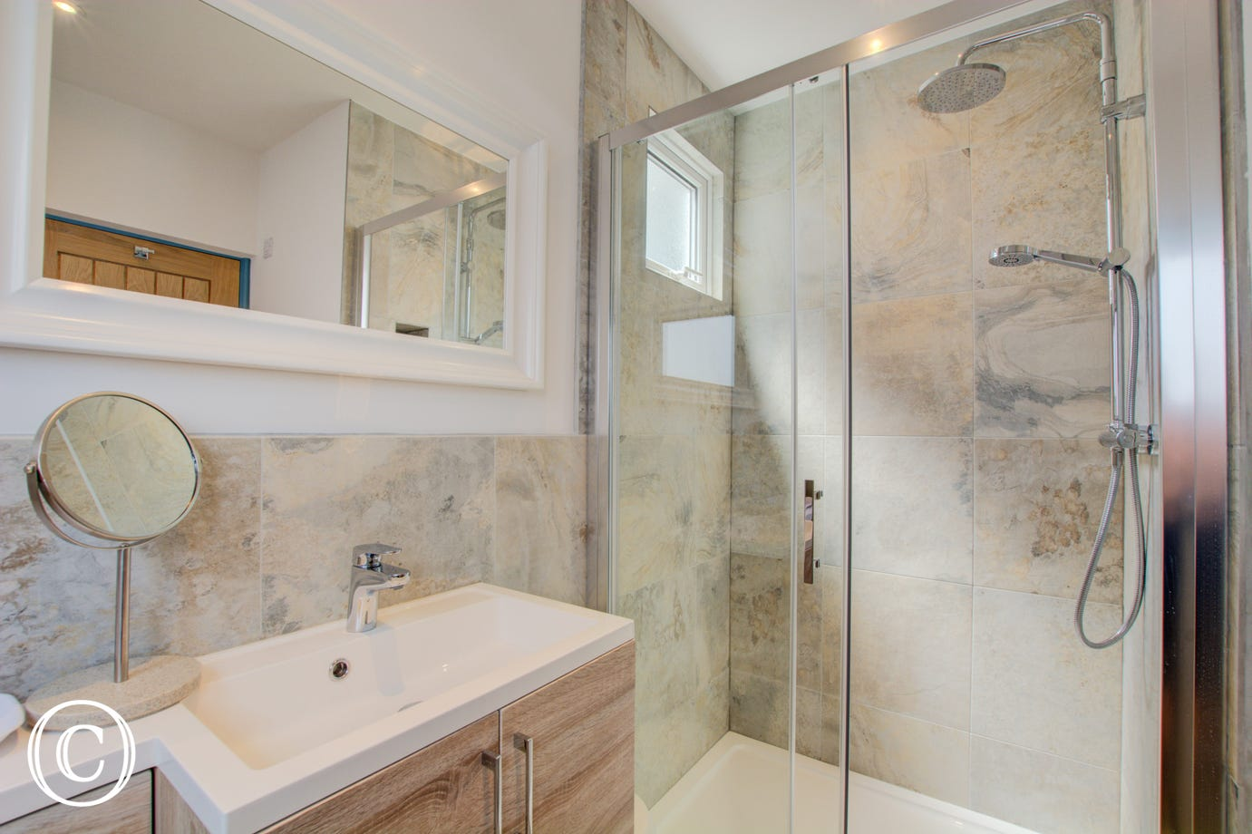 Ground floor shower room/utility