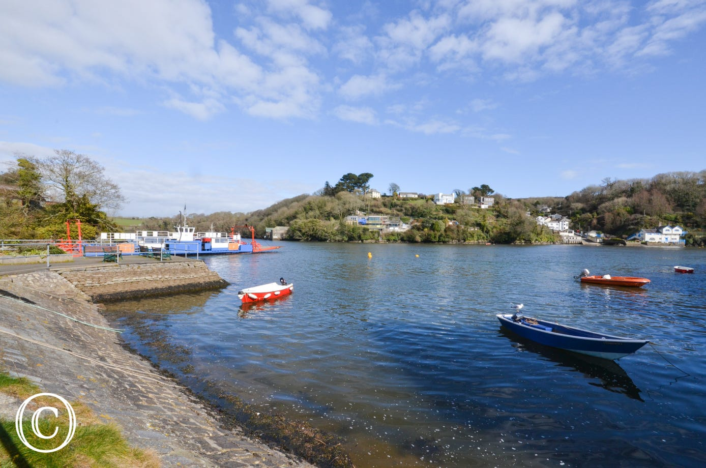 Bodinnick Ferry crossing