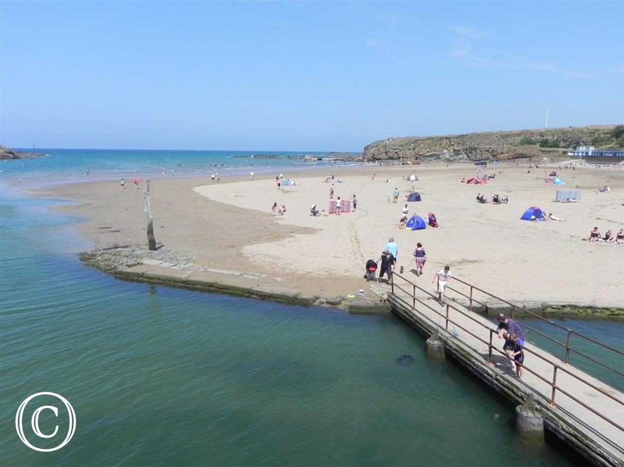 Summerleaze Beach, Bude - Approx 18 miles from Merlins Roost