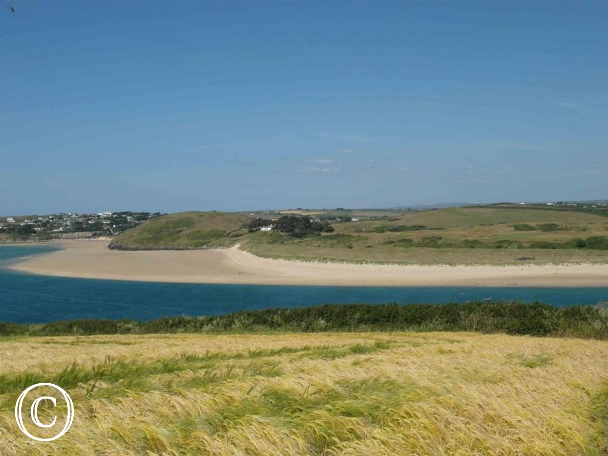 Short walk to Padstow Estuary beaches
