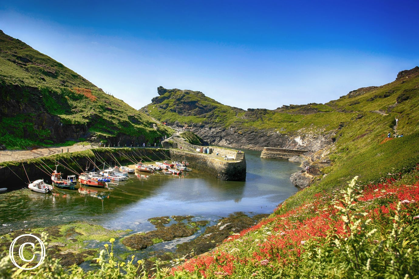 The idyllic village of Boscastle is only 6 miles away
