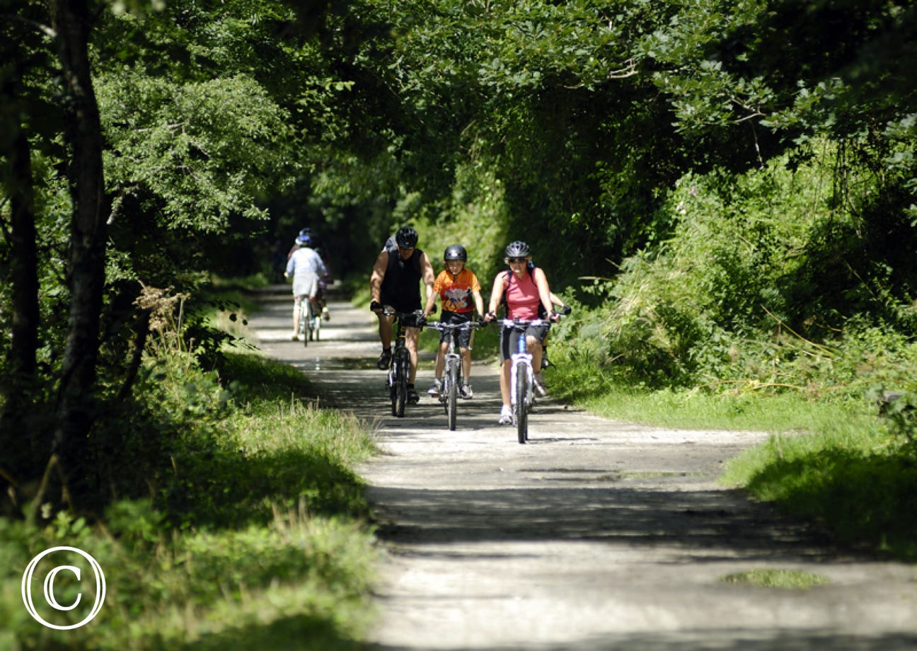 The Camel Trail is less than 10 minutes' walk - perfect for walking and cycling