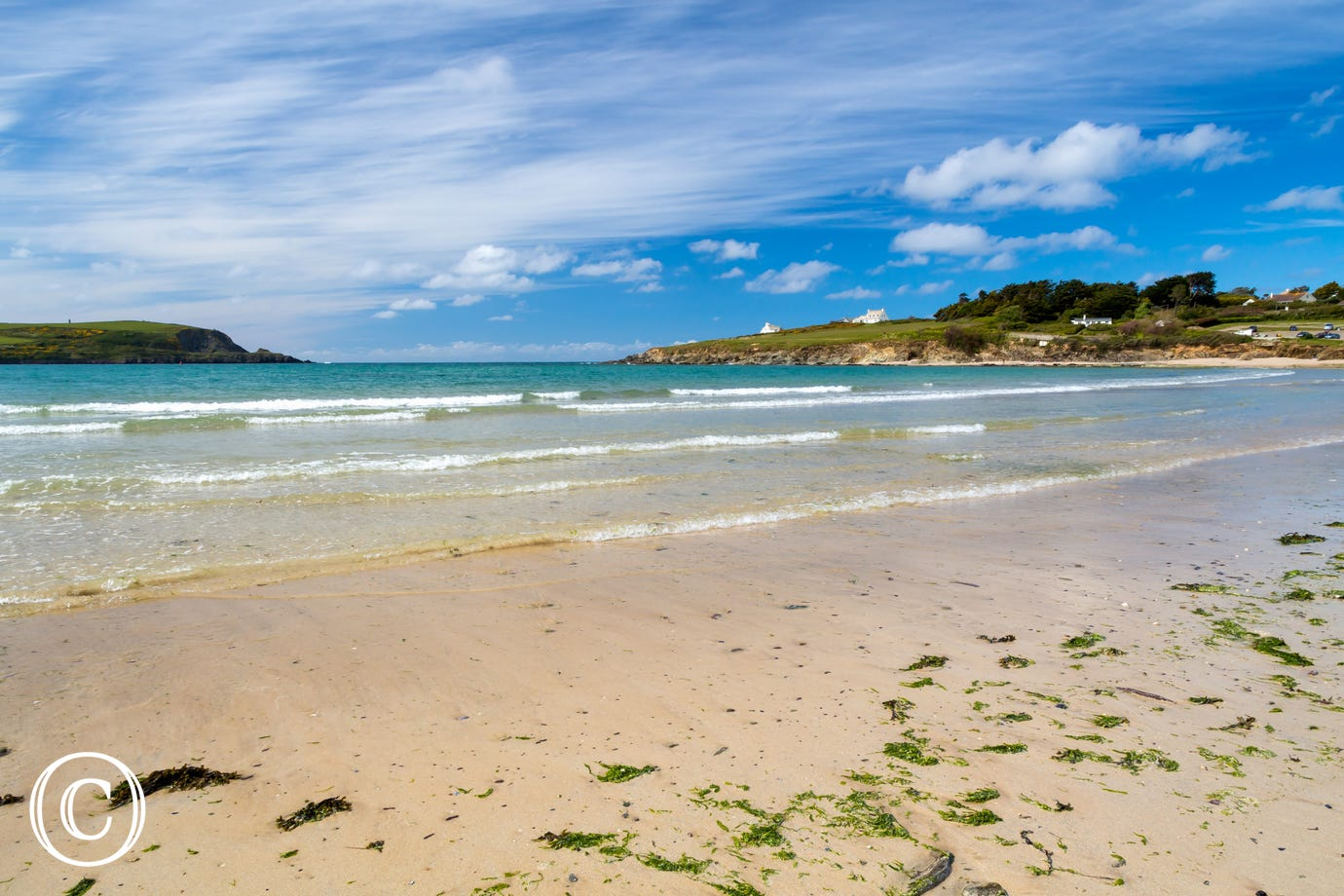 The beautiful beach at Daymer Bay near Rock is about a 15 minute drive