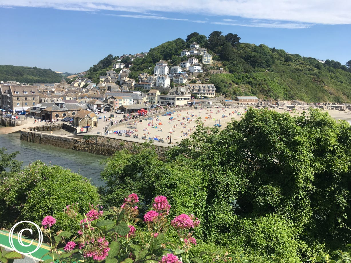 View across to Looe