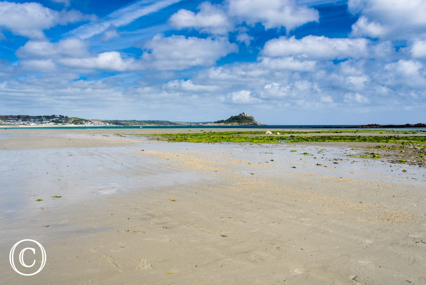 Marazion beach, just a stone's throw from Pebbles