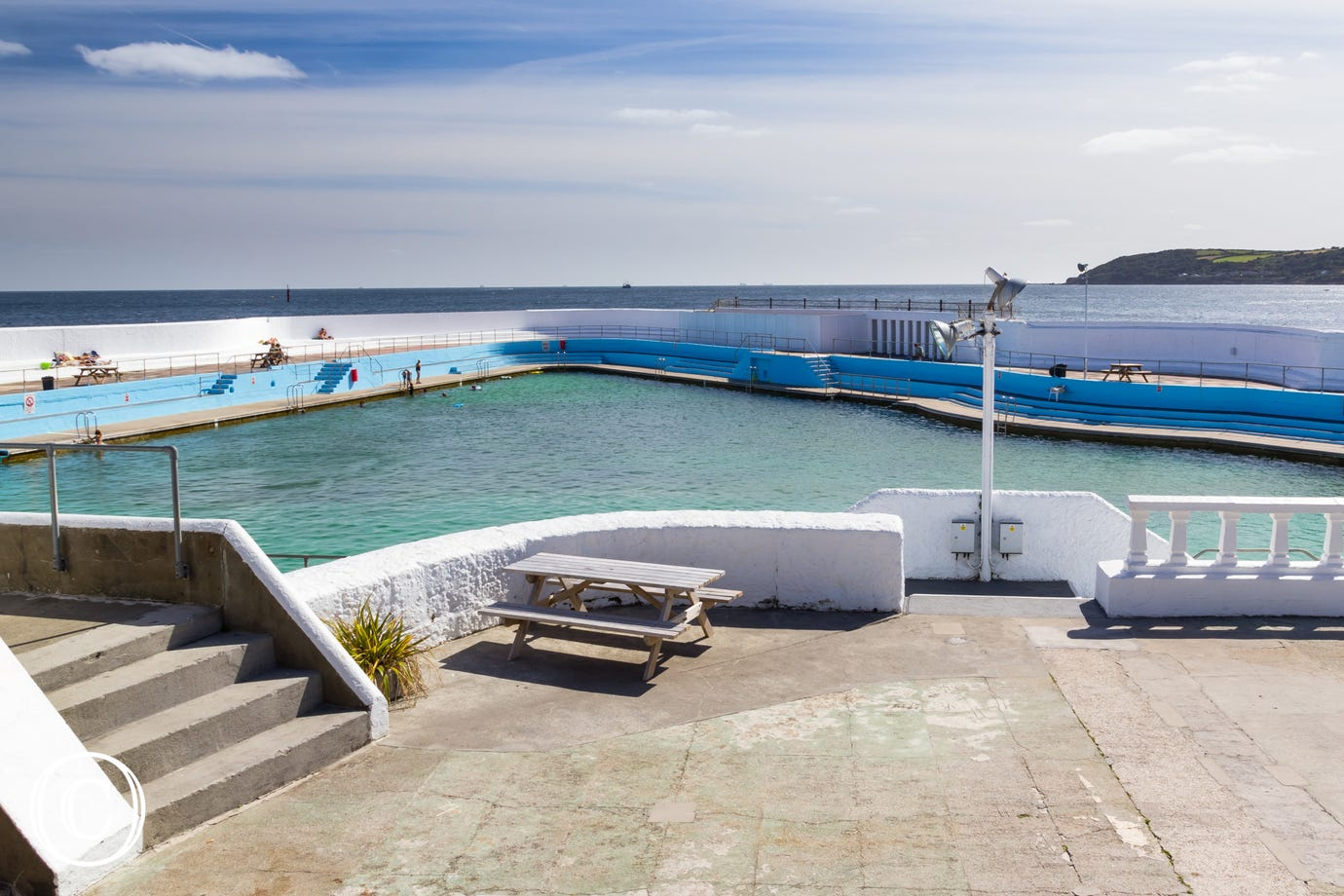 The Jubilee Pool at Penzance