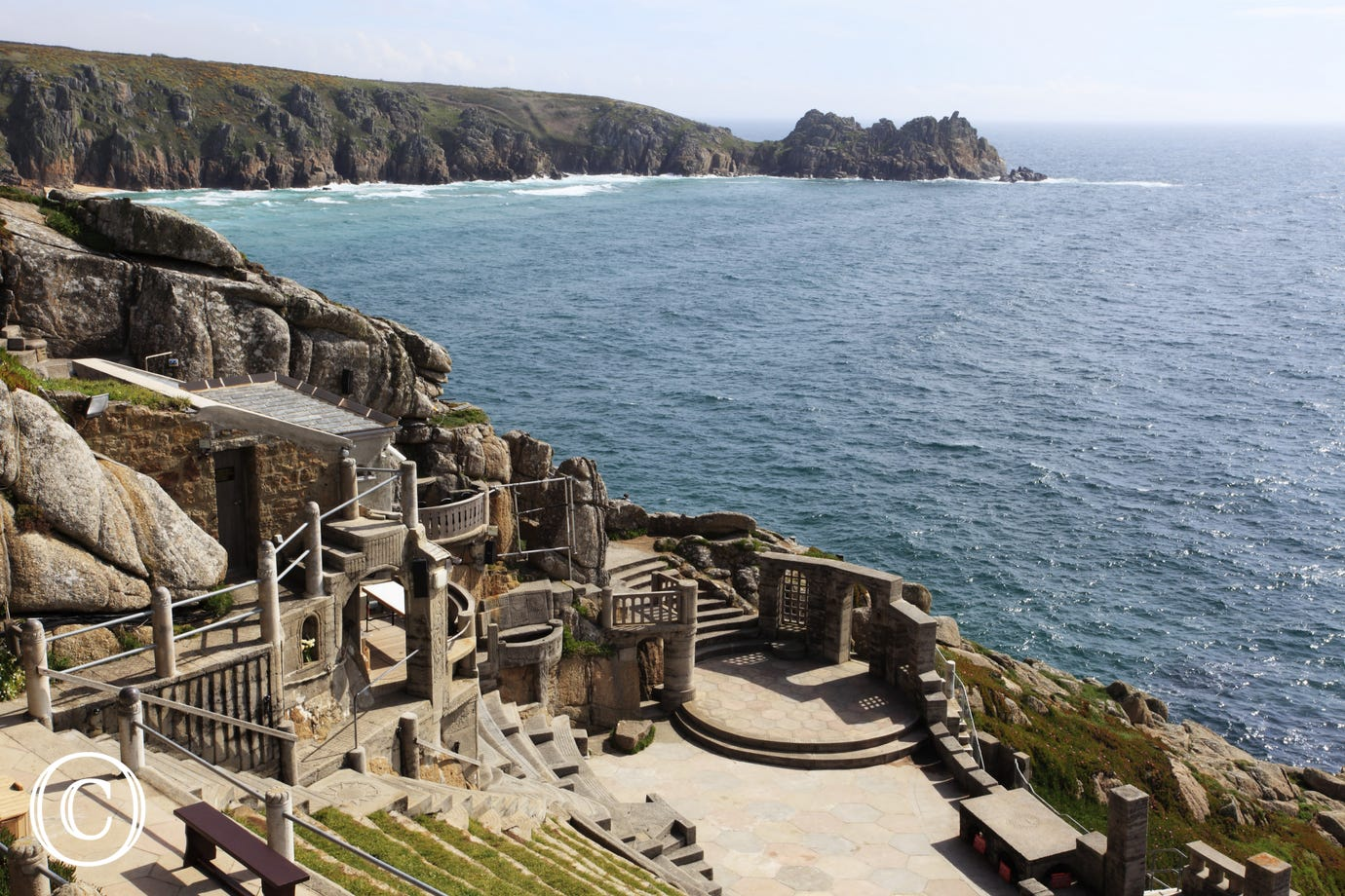 Minack Theatre only two miles from The Granary