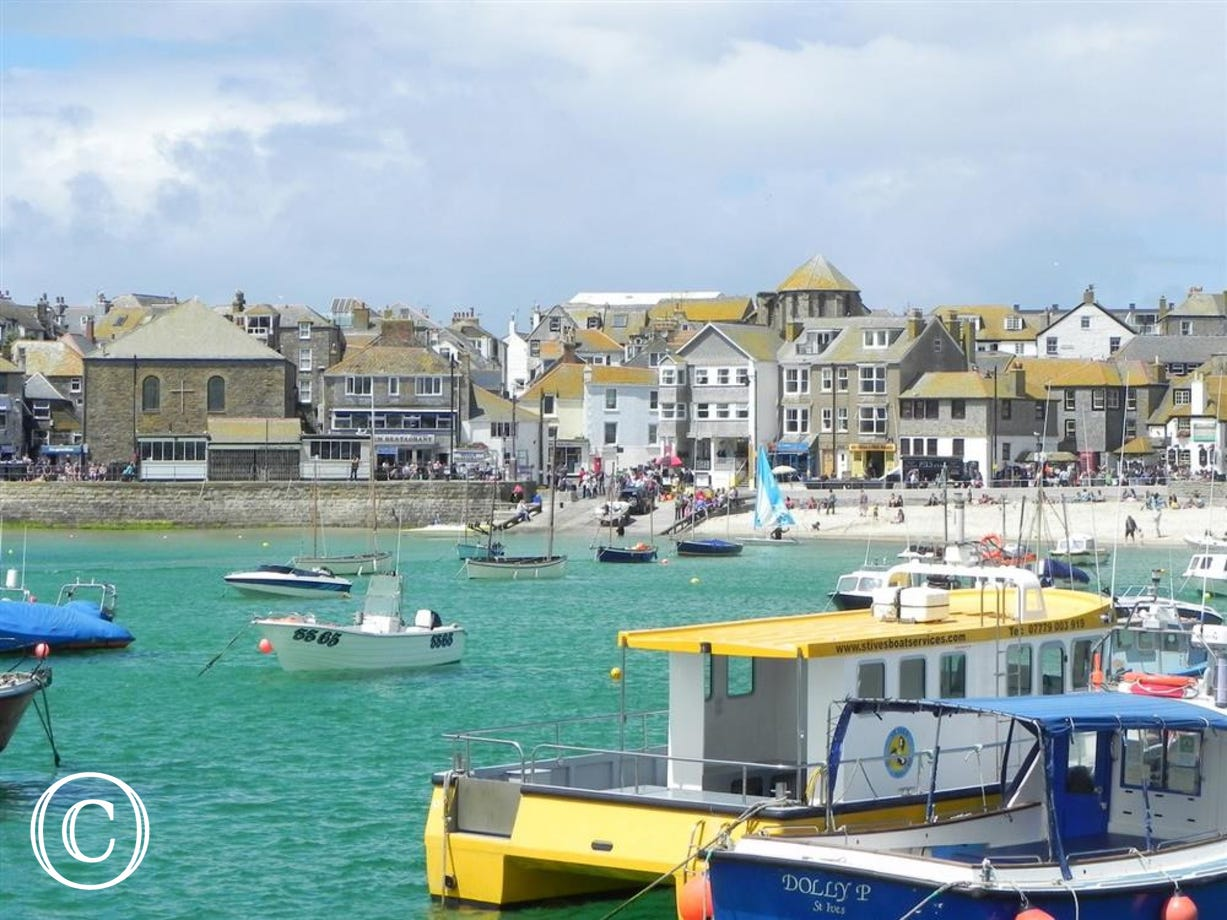 Located on St Ives Harbour front