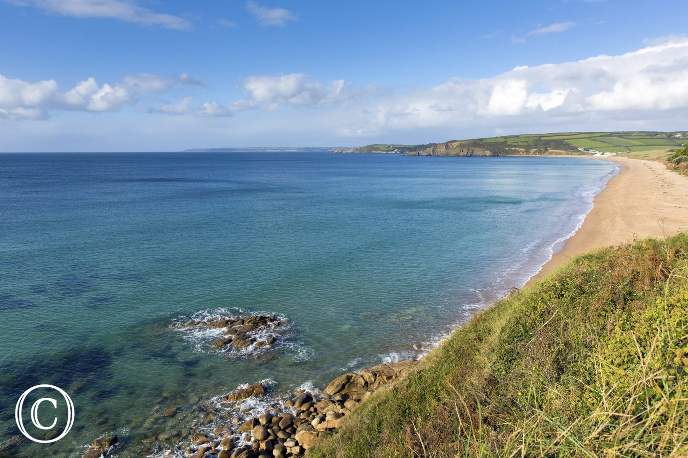Stunning Praa Sands beach is only 5 miles