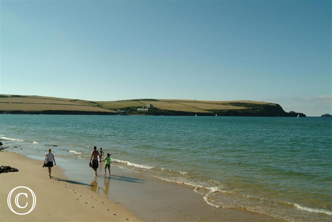 One of Padstows Estuary beaches