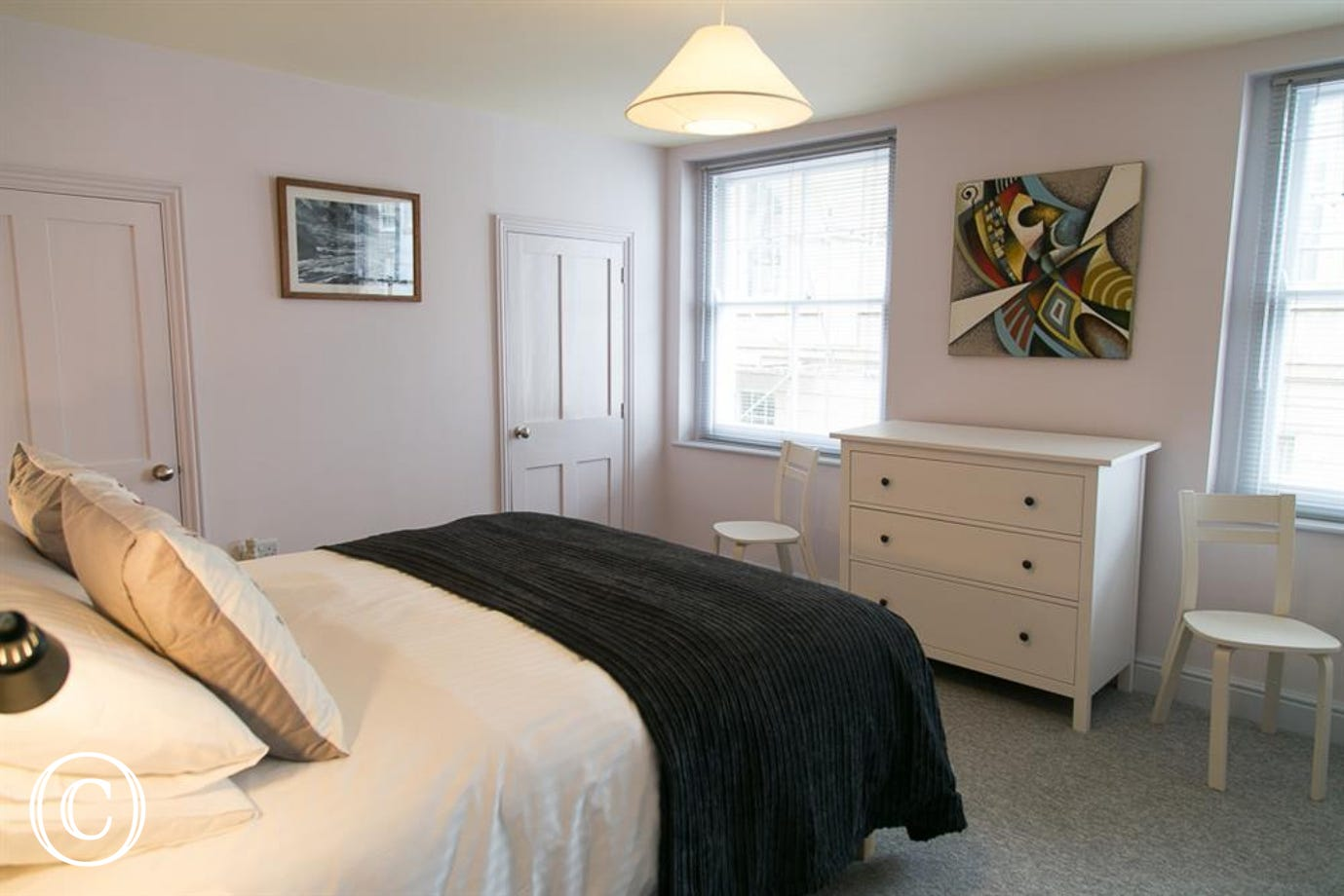 26 Chapel Street double bedroom