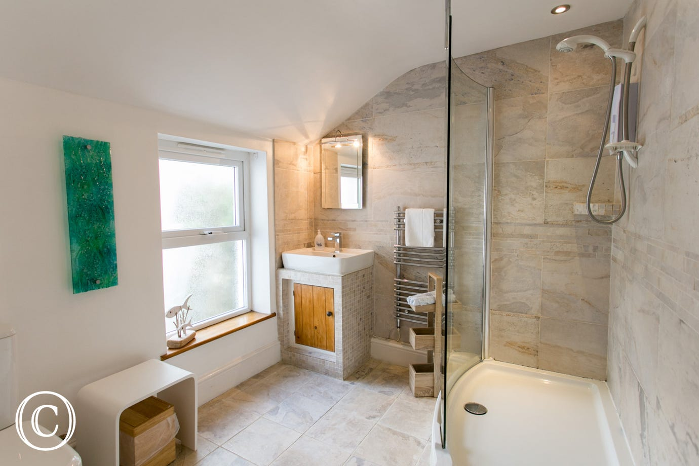 12 Bay View shower cubicle