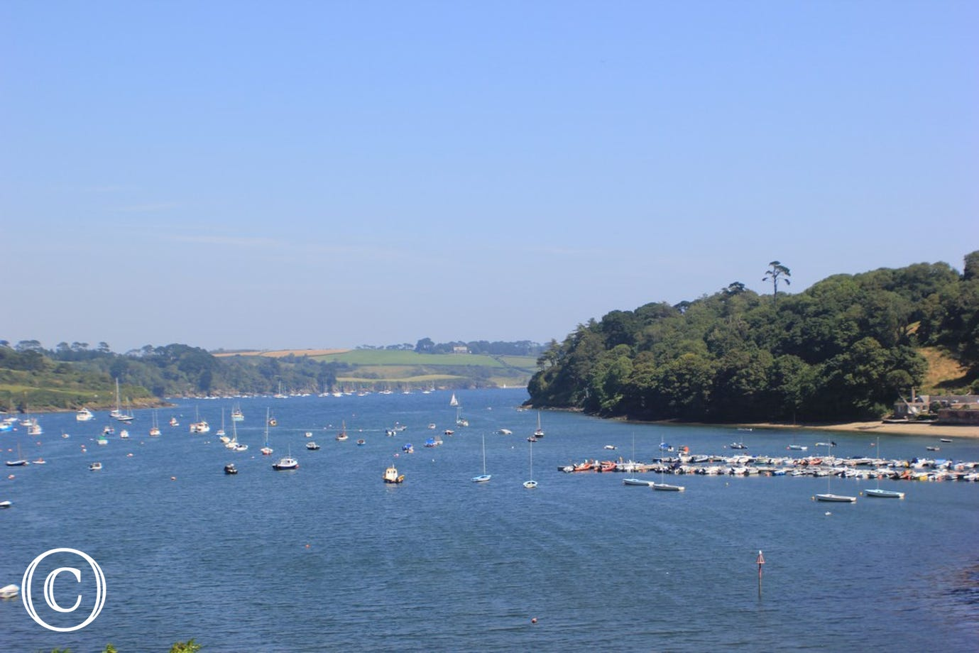 Helford River from Creek View