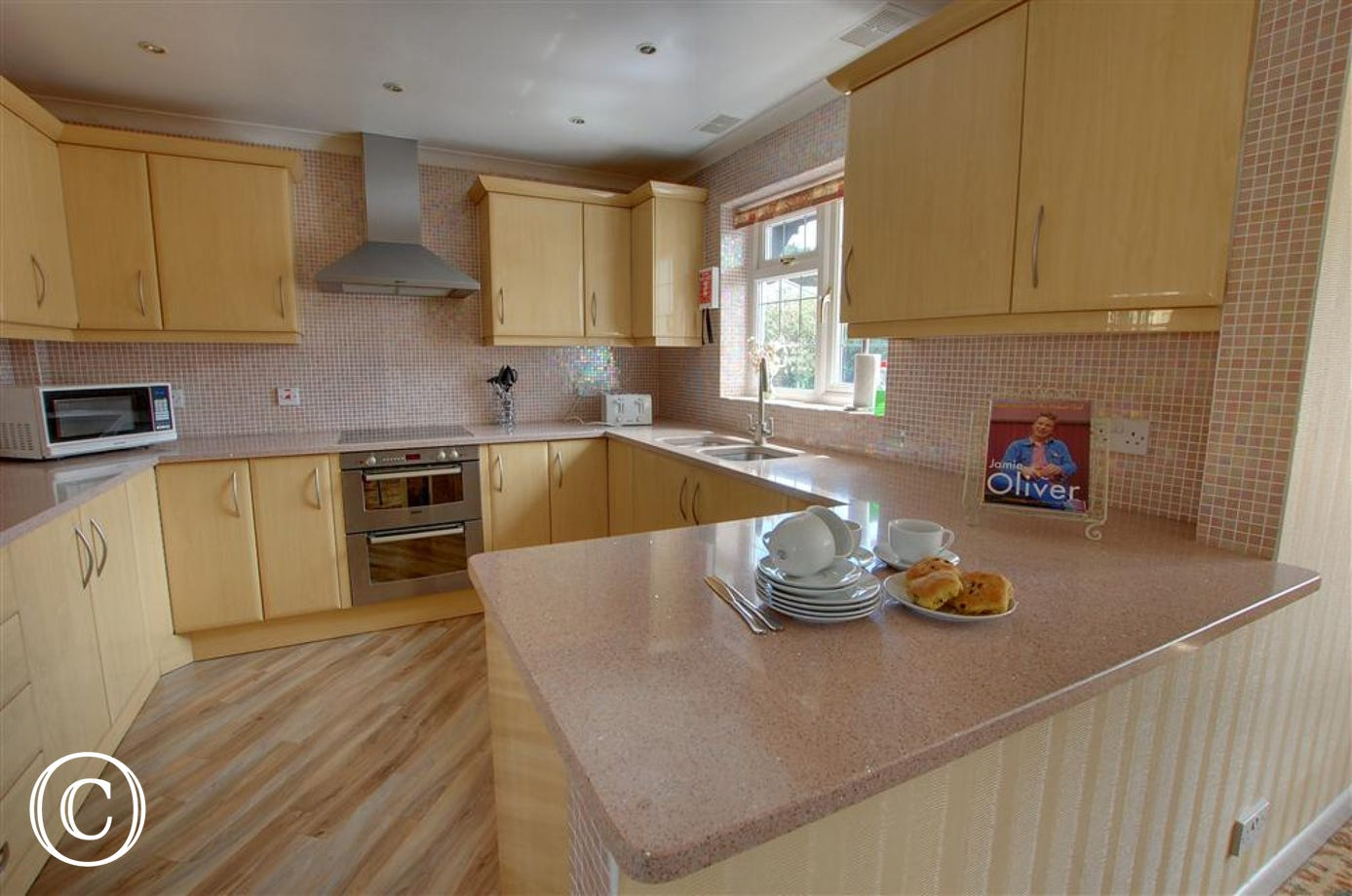 Fully fitted kitchen and theres a utility room too