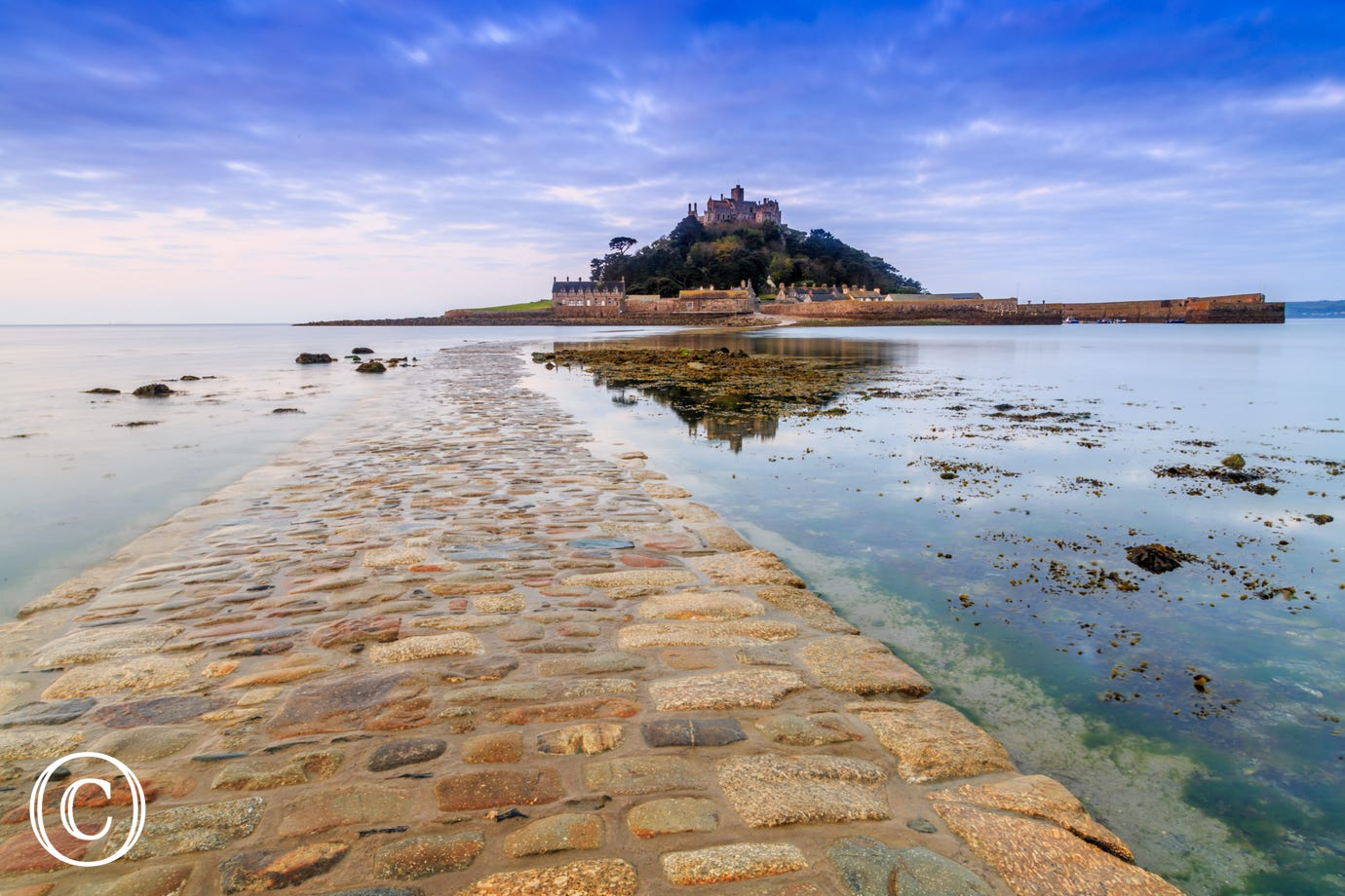 St. Michael's Mount close to Chy Merthen