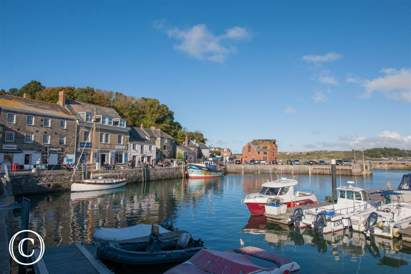 Padstow is just down the road