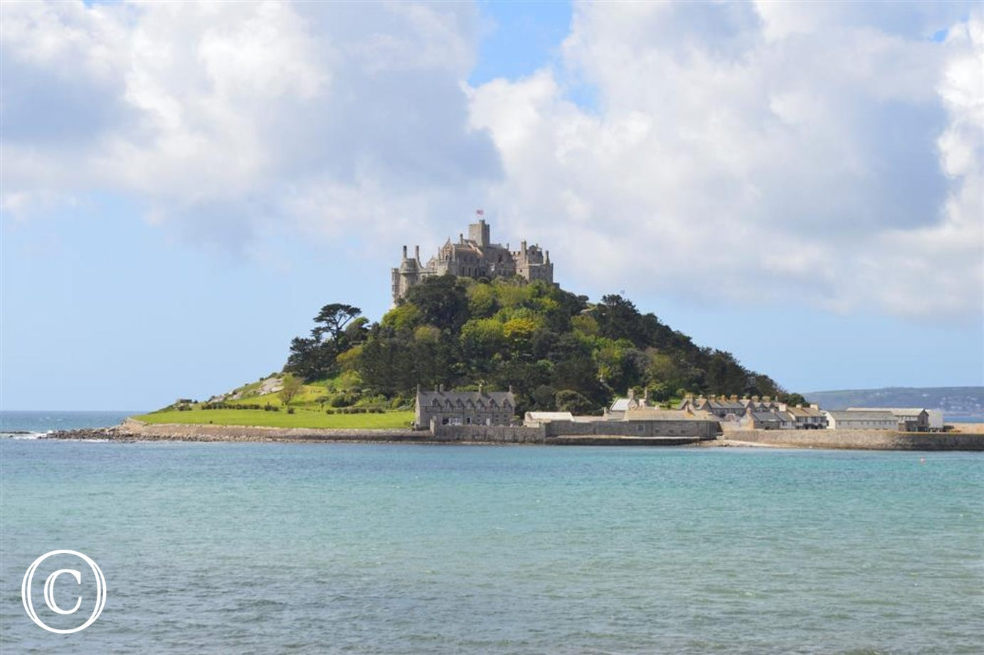 St Michael's Mount is approx 4 miles from Finches - Lovely for a family day out!