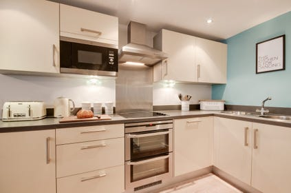 Fitted kitchen with all appliances