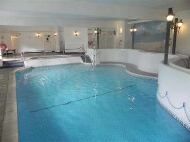 Swimming pool on site available April - October