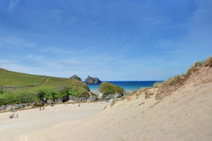Less than a mile to the beach at Holywell Bay